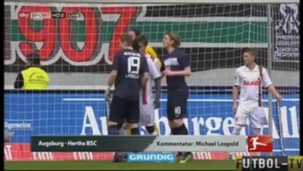 ไฮไลท์ บุนเดสลีกา เอาก์สบวร์ก 3-0 แฮร์ธ่า เบอร์ลิน
