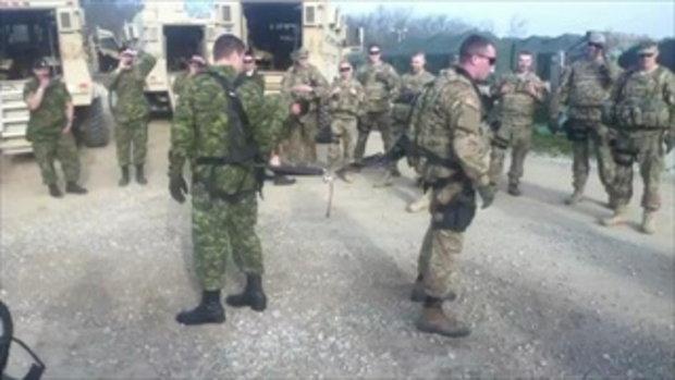 ตัวต่อตัว ทหารอเมริกา VS ทหารแคนาดา ใครเจ๋งกว่ากัน