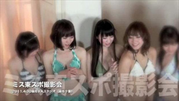 ถ่ายแบบชุดว่ายน้ำ ไอดอลสาวญี่ปุ่น
