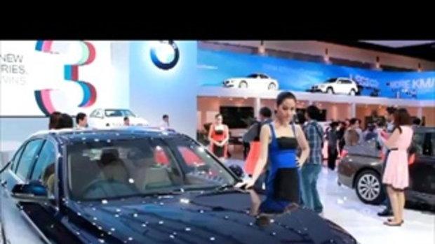 Motor Show 2012 พริตตี้สาวสวยจากบูธ BMW