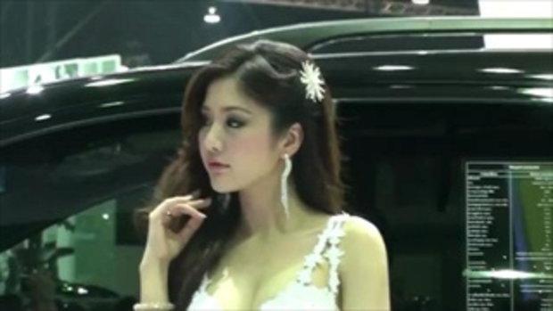 มอเตอร์โชว์ 2012 - Pretty Ssangyong