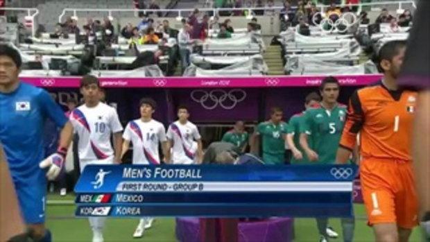 Football Men_s Group B - Mexico v Korea - London 2012