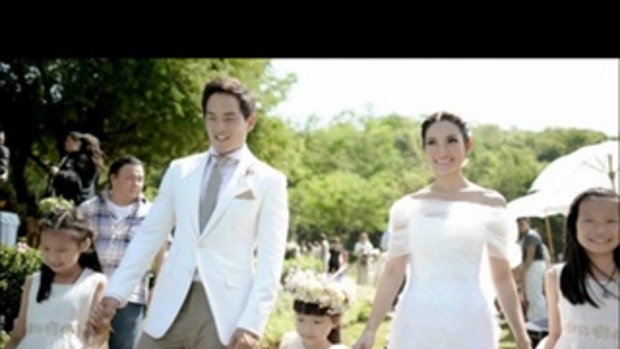 งานแต่งงานแอ๊ฟ สงกรานต์ MVจากนี้ไปจนนิรันดร์