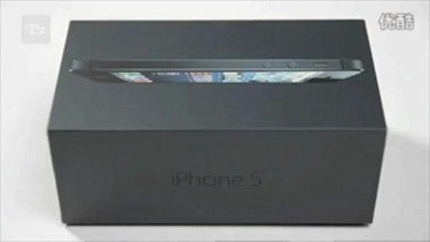แกะกล่อง iPhone 5 จะแจ่มขนาดไหนมาดูกัน