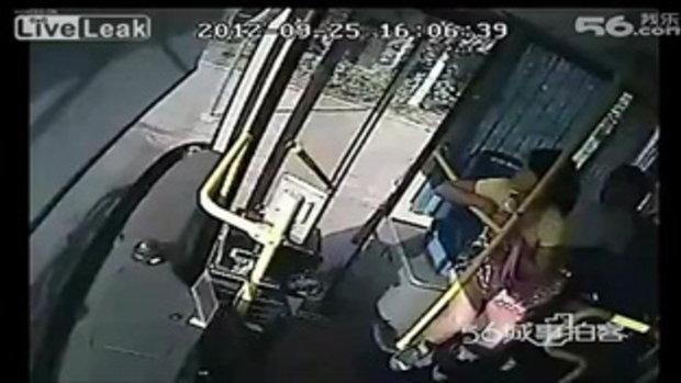 รถเมล์ทั้งหลาย ไม่รับผู้โดยสารระวังเจอแบบนี้นะ