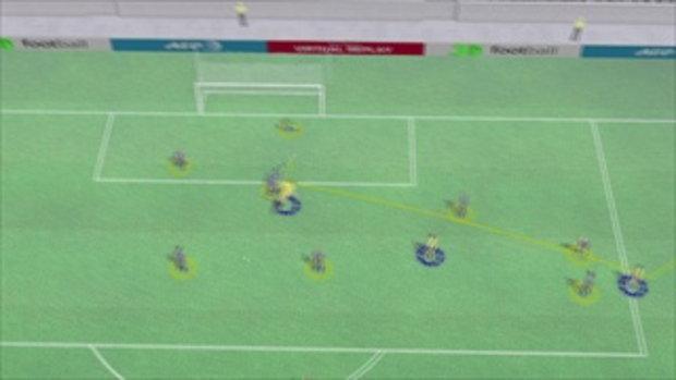 คลิปไฮไลท์ยูโร2012 3D ยูเครน ตีเสมอ สวีเดน 1-1