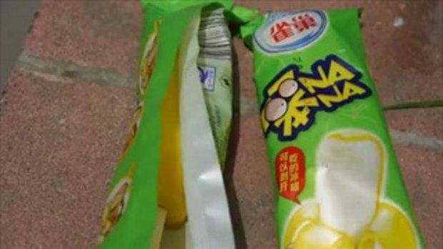 ทึ้ง! ไอศกรีมจีนไม่ละลาย ตากแดด 3 ชั่วโมง