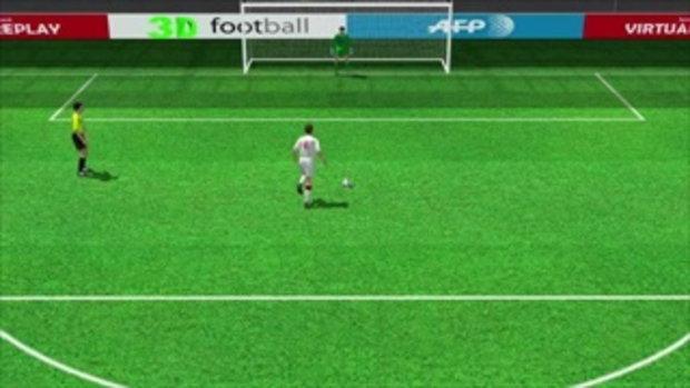 คลิป อิตาลี ชนะจุดโทษ อังกฤษ 4-2 (1-1)