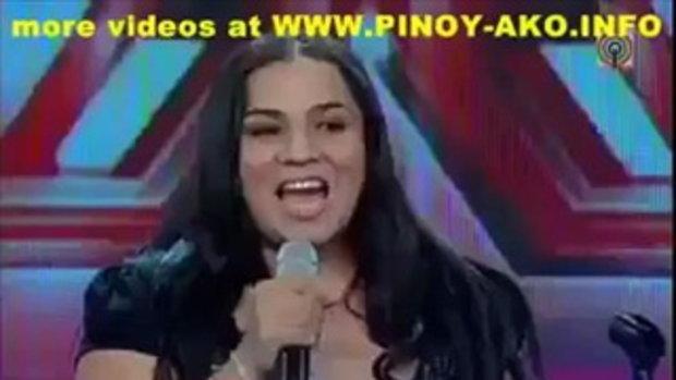 ตะลึง!! พลังเสียงของเธอ X Factor ของฟิลิปปินส์