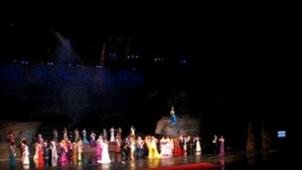 งานผลประกวดMiss Tourism 2012  Grand  final  16 ธันวาคม , 2555 ณ.โรงละครสยามนิรมิต