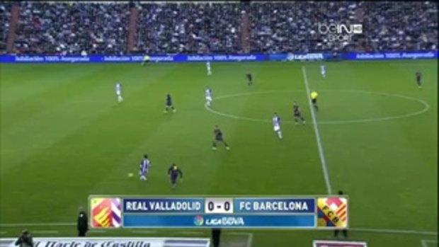 เรอัล บายาโดลิด 1-3 บาร์เซโลน่า