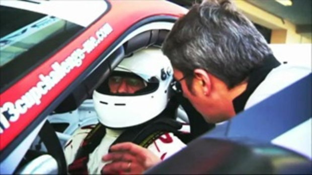 The conductor who runs the Porsche GT3 Cup series by sia.co.th