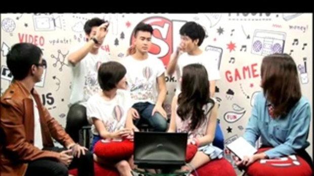 Sanook Live chat - นักแสดงซีรี่ส์ Love Balloon 4/5