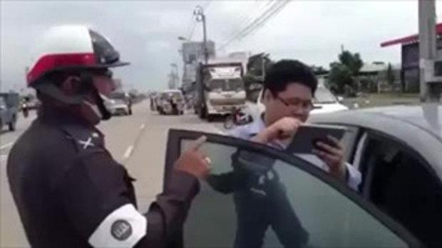 ประชาชนเปรี้ยวกับตำรวจ ภาค 2 เห็นหน้าพี่แกชัดเจน