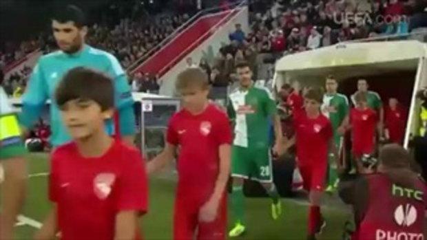 ไฮไลต์ฟุตบอล ธูน 1-0 ราปิด เวียนนา (ยูโรป้า)