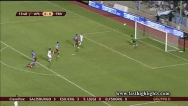 ไฮไลต์ฟุตบอล อพอลล่อน ลิมาสโซล 1-2 แทร็บซอนสปอร์ (ยูโรป้า)