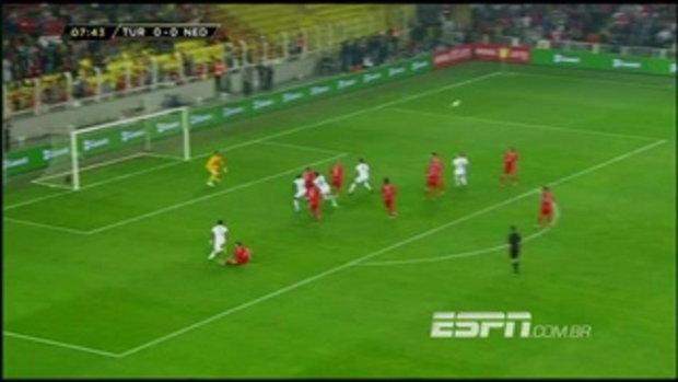 ไฮไลต์ฟุตบอล ตุรกี 0-2 เนเธอร์แลนด์