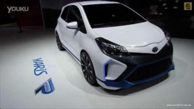 โฉมใหม่! Toyota Yaris Hybrid R แห่งปี 2014