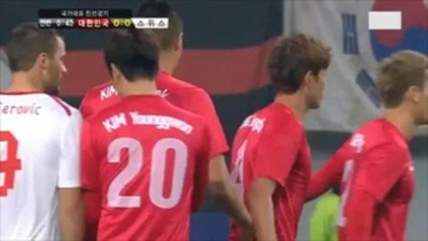 เกาหลีใต้ 2-1 สวิตเซอร์แลนด์ (กระชับมิตร)