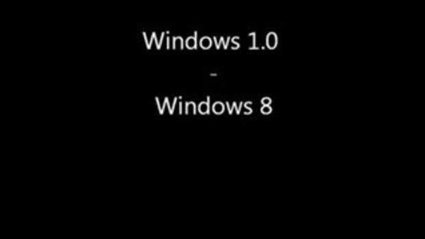 กว่าจะมาเป็น Windows 8