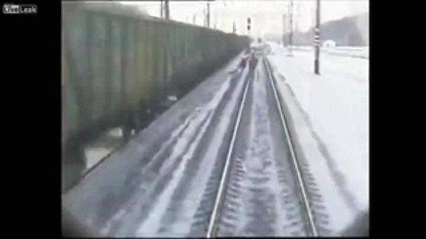ตากล้องโชคร้าย โดยรถไฟชนดับคาที่