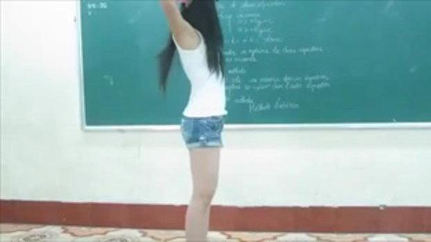 เต้น bubble pop ของ Hyuna ของสาวเวียดนาม