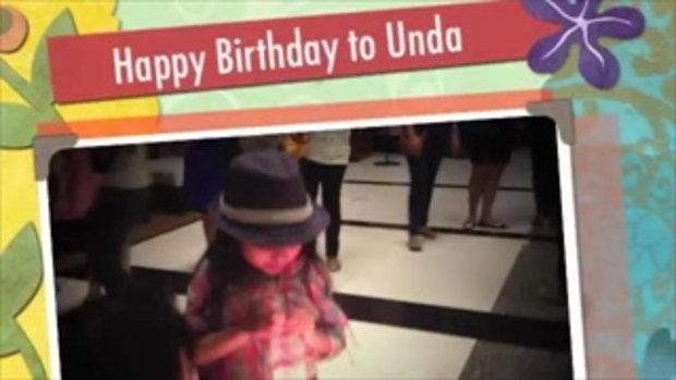 น้องอันดา - Happy Birthday to Unda