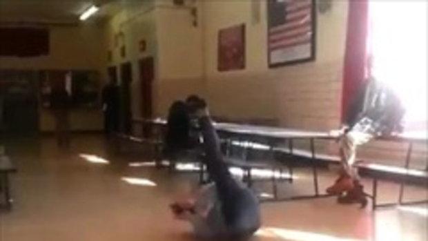A Cool School Teacher Breaks Out His Dancing Skills