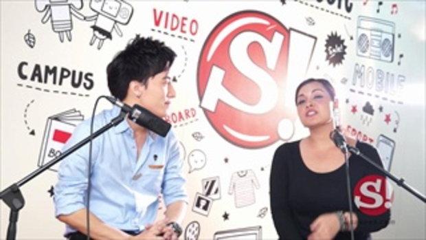 Interview : มาเรียม B5 และ นัท Singular