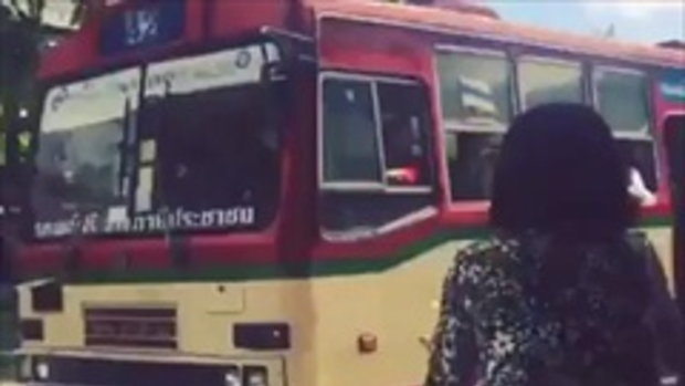 เมืองไทยมุมน่ารัก รถเมล์ฟรี-น้ำ(ใจ)ฟรี จากประชาชน