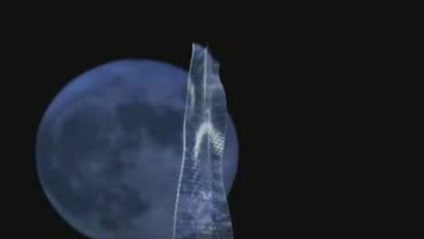ตึกระฟ้า หมุนได้ ตึกแรกของโลกที่ ดูไบ
