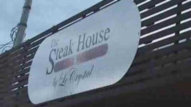 Grand opening The Steak House