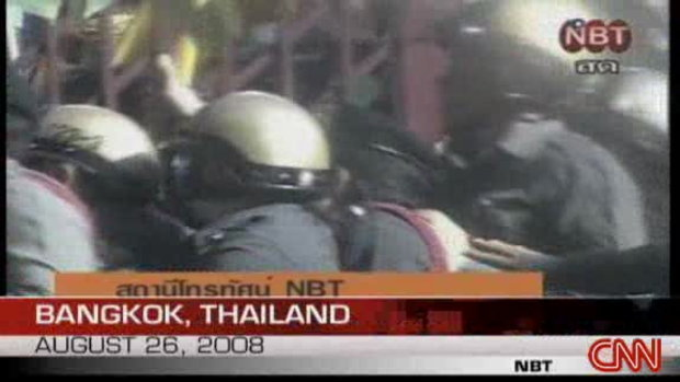 CNN ถ่ายทอดภาพพันธมิตรบุกยึด NBT