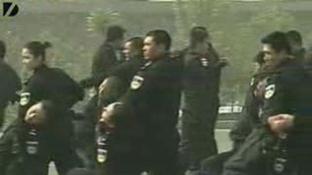 การฝึกซ้อมของตำรวจจีน