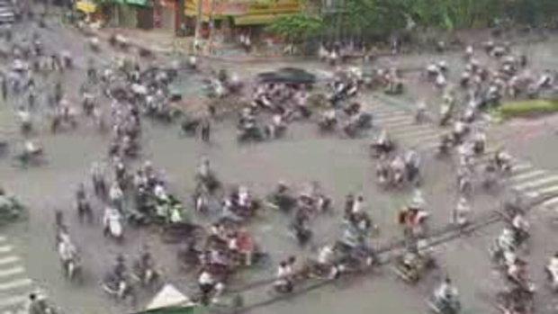 วิธีขี่มอร์ไซด์ในเวียดนาม