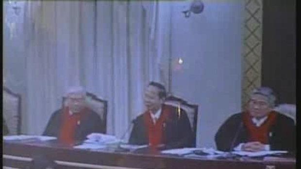 สมัคร ชี้แจง ศาลรัฐธรรมนูญ คดีชิมไปบ่นไป 2