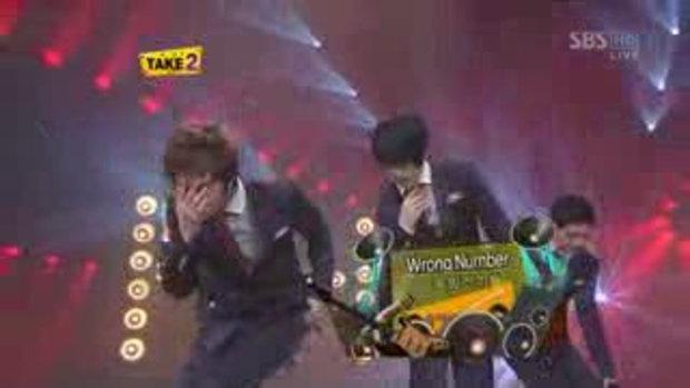 2008-11-30 SBS Inkigayo Wrong Number