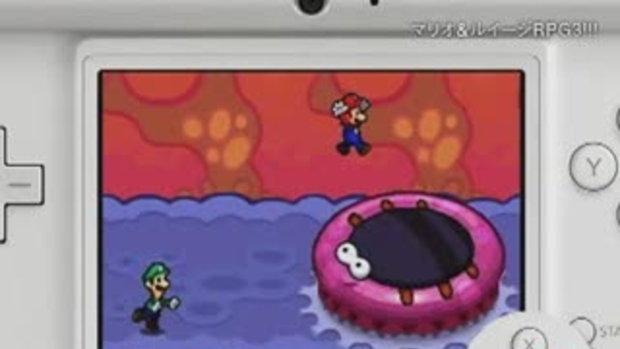 Mario & Luigi  RPG 3 [Jap Trailer]