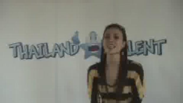 Thailand Talent : น้องเบียร์ เดินแบบ