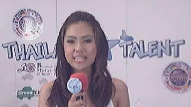 thailand talent : น้องแสตมป์โชว์ร้องเพลง