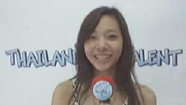 Thailand Talent : น้องน้ำหวานขอกำลังใจ