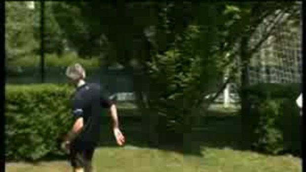 มูรินโญ่ โชว์ทักษะเล่นฟุตบอล