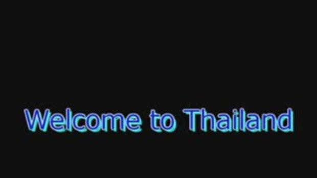 welcome to Thailand เที่ยวไทยช่วยชาติ