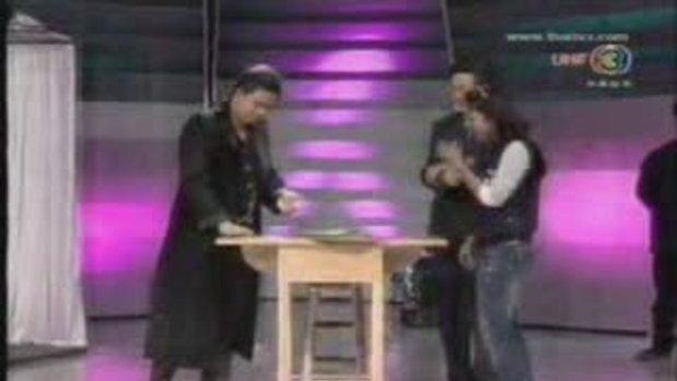 ตีสิบ โชว์ มายากล Nris Magic Show โรงละคร เรือนชาต