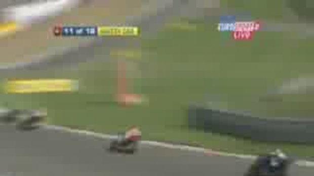 อุบัติเหตุในสนามแข่งมอเตอรืไซต์