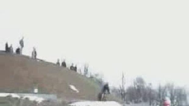 จักรยานBMX ล้ม