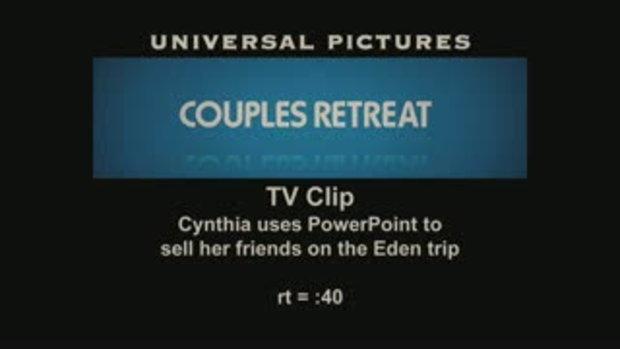คลิปพิเศษจากหนัง COUPLE RETREATS (1)