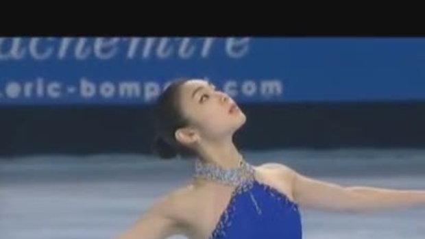 YUNA KIM สาวน้อยสเก็ตน้ำแข็ง !