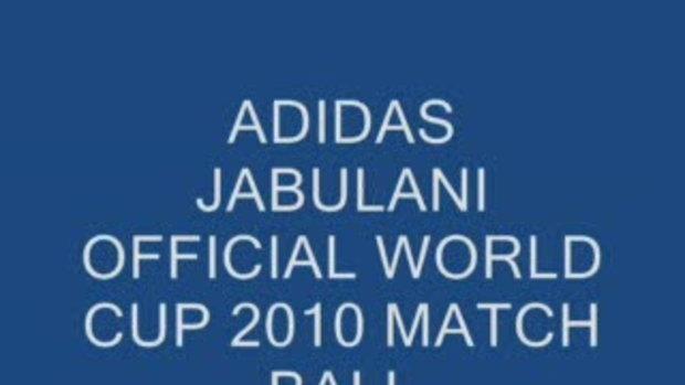 มาแล้ว!ลูกฟุตบอล ฟุตบอลโลก 2010