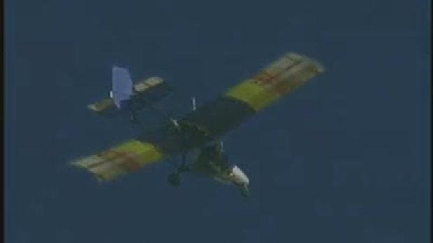 คลิประเบิดเครื่องบินกลางอากาศ
